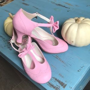 Pin up Couture Baby Pink Heels